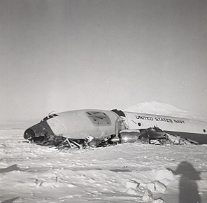BuNo 126513 at McMurdo Bay November 1960