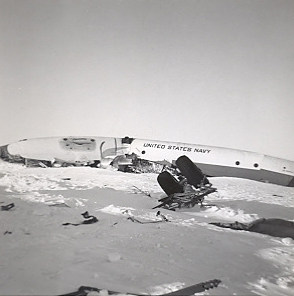 126513 crashed at McMurdo Bay on October 31, 1960