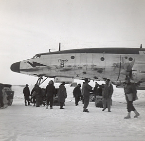 WV-2 at McMurdo Bay November 1960