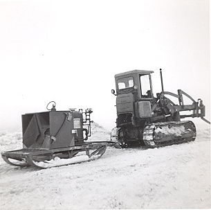Equipment at McMurdo Bay November 1960