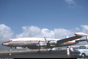 L1049G VH-EAB November 1958 Honolulu, HI